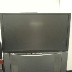 Flat screen TV with surround sound